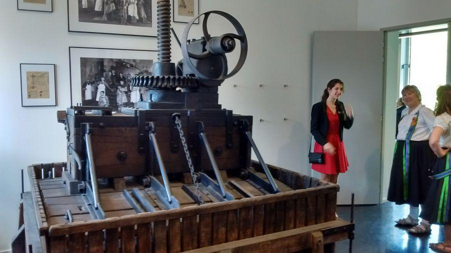 Old-grape-press