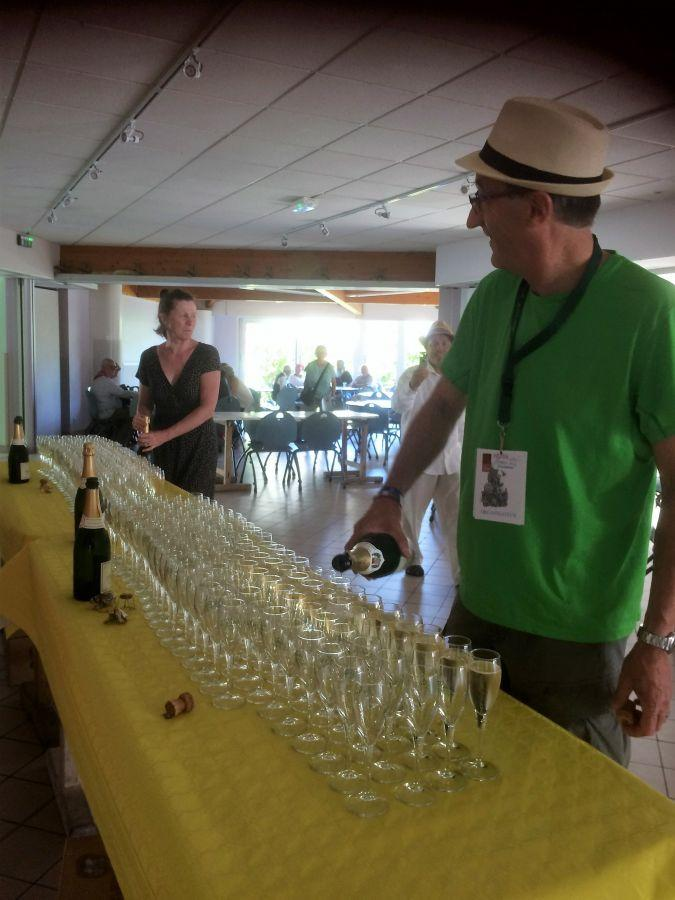Ay-2018---champagne-glasses-lined-up-before-the-Gala-Dinner-at-the-Salle-des-Fetes