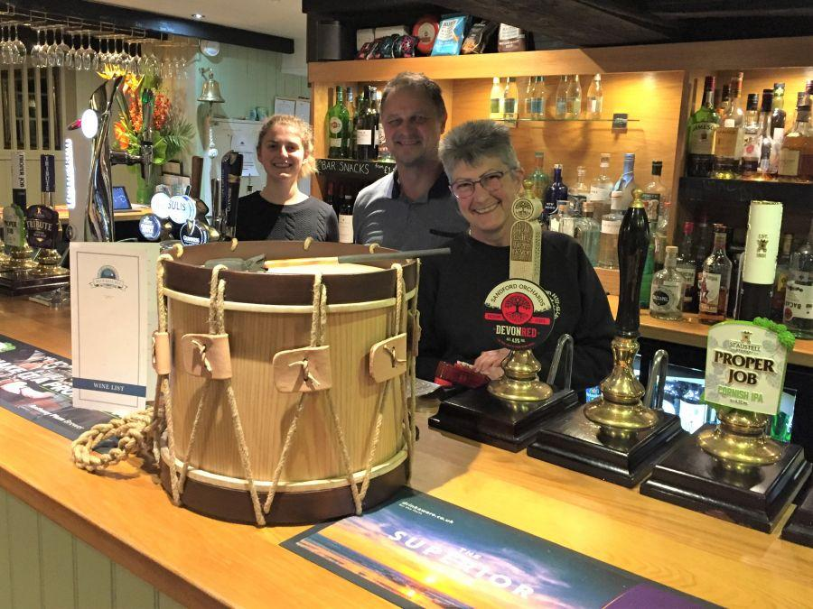 Judy-and-the-new-drum-at-The-Blue-Ball-3